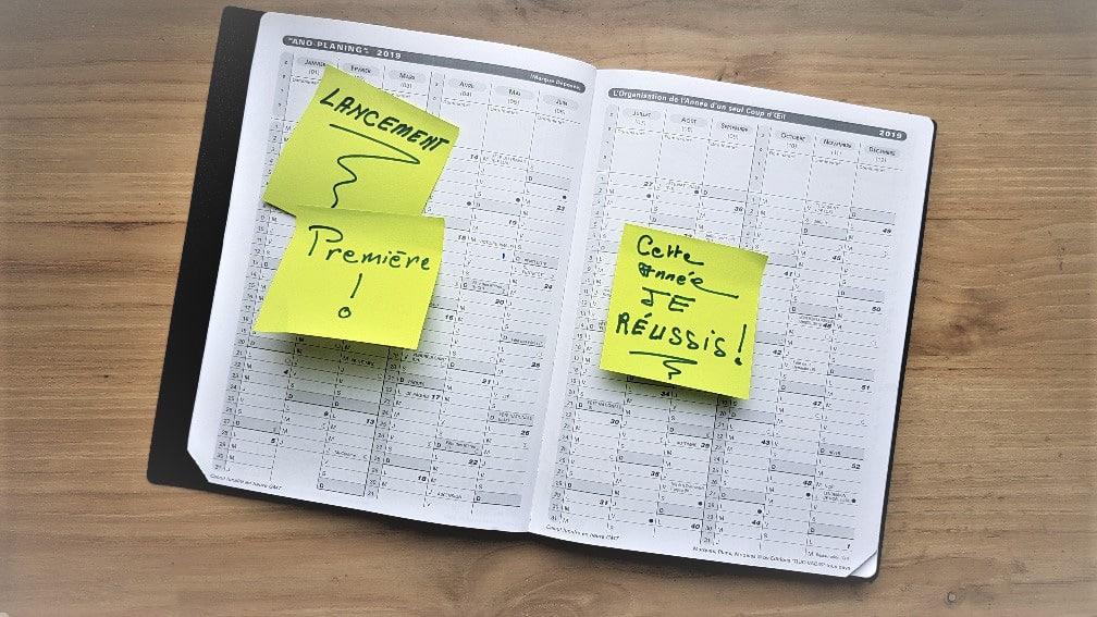 agenda résolutions réussir