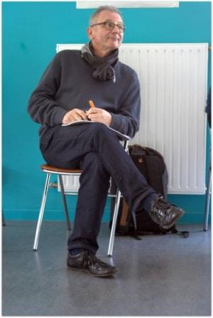 Bernard Cessieux assis