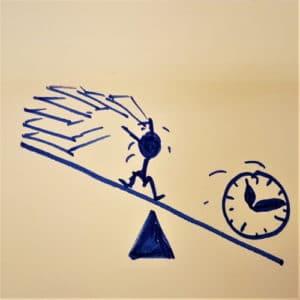 Postit gestion du temps